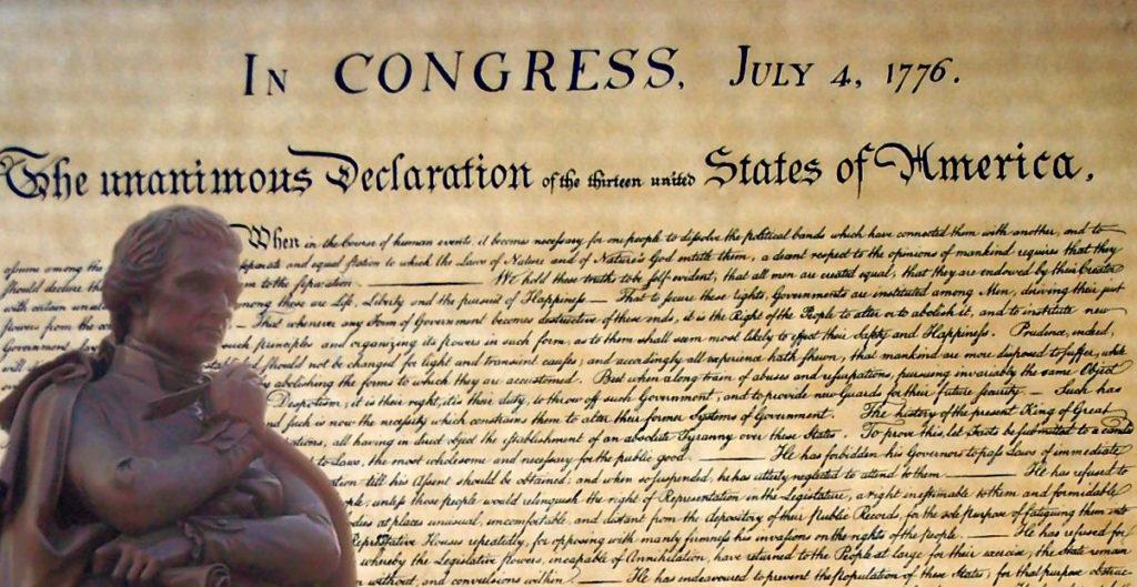 Thomas Jefferson altered one word in the Declaration of Independence to set the course of American history.