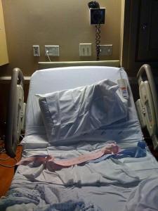 Hospital Bed - Healing Power of Inertia